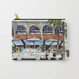 South Beach Sidewalks Carry-All Pouch