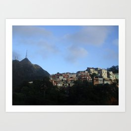 The Hills of Campinas Art Print