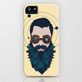 Space Traveler iPhone Case