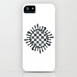 Chess Board Piece Game Master Chess Player iPhone Case