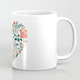 Animal Heart Coffee Mug