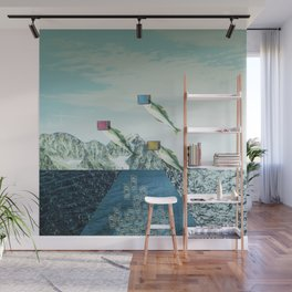 atmosphere 38 · Flying Fish Bowl Wall Mural