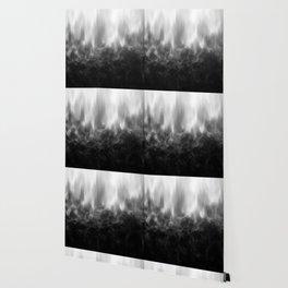 B&W Spotted Blur Wallpaper
