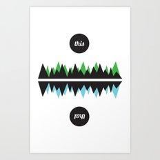This & That Art Print