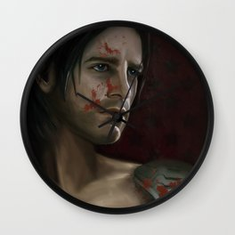 The Winter Soldier (Bloodied) Wall Clock