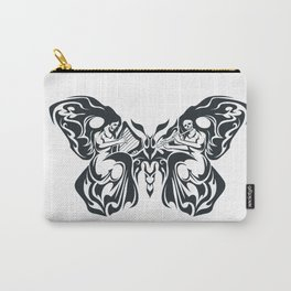 Tribal Moth Carry-All Pouch