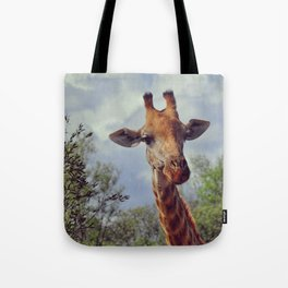 Closer, closer, how about now? Tote Bag