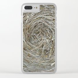 Round Bale Clear iPhone Case