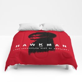 Hawkman or The Unexpected Vice of Ambition Comforters