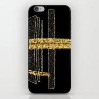 metal iPhone & iPod Skins featuring Metal by Maria Julia Bastias