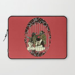 Crow Serie :: At The Balcony (after Goya) Laptop Sleeve