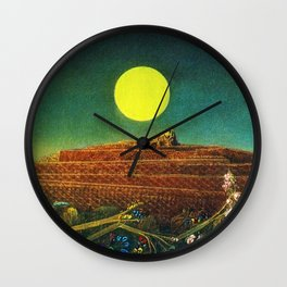 The Entire City by Max Ernst Wall Clock