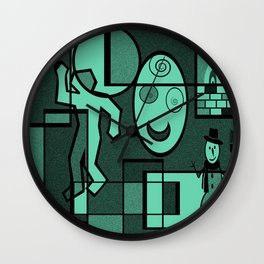 Whodunnit Wall Clock