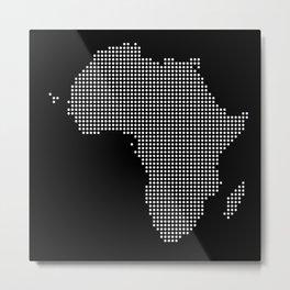 Africa Dot Com Metal Print