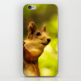Did you say something? iPhone Skin