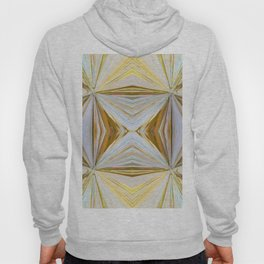 350 - Abstract Palm Fronds Design Hoody
