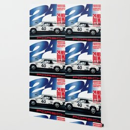 Vintage 1970 Race poster Wallpaper