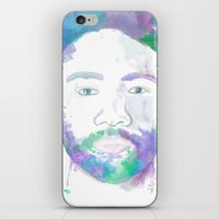 childish gambino iPhone & iPod Skins featuring Childish Gambino  by Danny