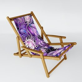 Ghost Lilies Sling Chair