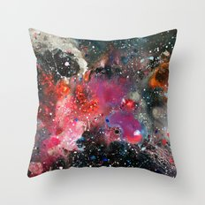 Chemistry of Nothing Throw Pillow