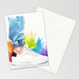 You can tell a man by his ankle: The Power Activated (Louis Tomlinson) Stationery Cards