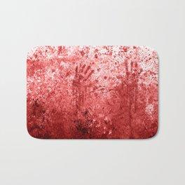 Bloody Abattoir Wall Bath Mat