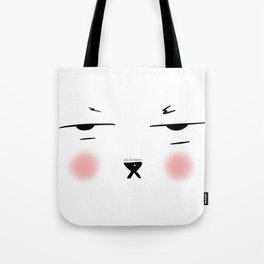 My resting face Tote Bag