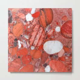Conglomerate Metal Print