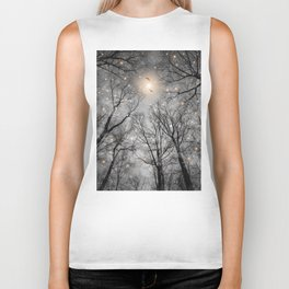 Nature Blazes Before Your Eyes 2 (Ash Embers) Biker Tank
