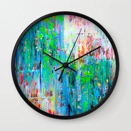 Sunday Brunch Wall Clock