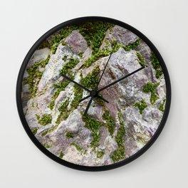 Vibrations, Glacier National Park Wall Clock