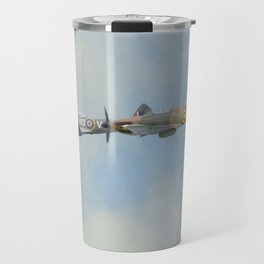 Spitfire and Hurricane Travel Mug