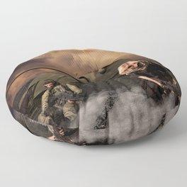 War Never is Good Floor Pillow