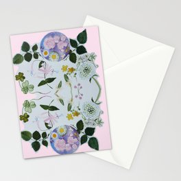 Flower Moon Stationery Cards