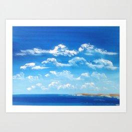 Those Australian Skies Art Print