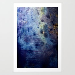 Blurple Art Print