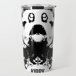 Kirby Ink Blot Geek Psychological Disorders Travel Mug