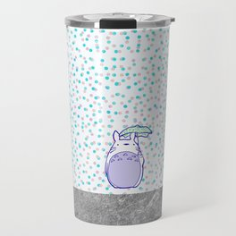 Waiting for Catbus Travel Mug