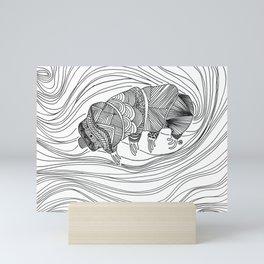 Tardigrade Mini Art Print