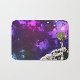 Lady in Space II Bath Mat