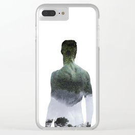 Half-Asleep Clear iPhone Case