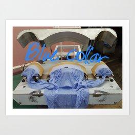 Literally a blue collar worker :) Art Print