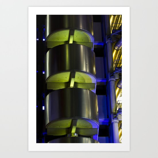 Lloyd's of London Abstract Art Print