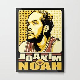 Joakim Noah Metal Print