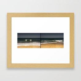 Inhale + Exhale Framed Art Print
