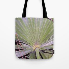 Saw Palmetto Abstract Tote Bag