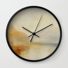 Inverary Pier, Loch Fyne, Morning J. M. W. Turner Wall Clock