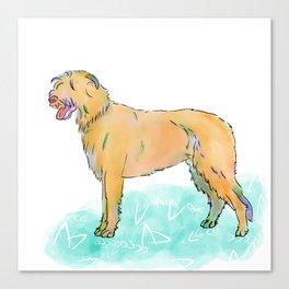 Fashion Pup Canvas Print