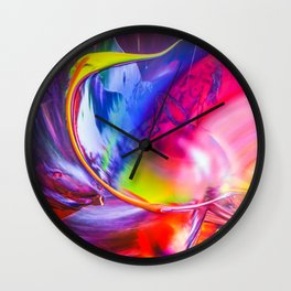 Relaxed into the weekend Wall Clock