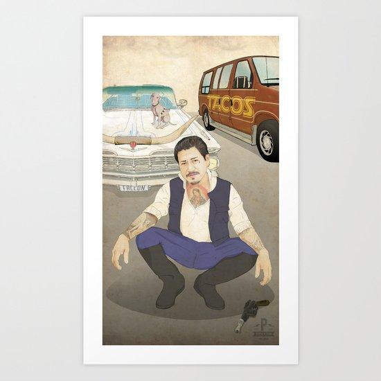 Han Cholo Art Print